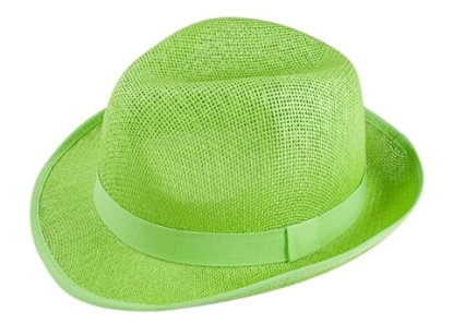 bulk fedora hats green