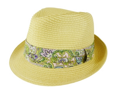 bulk straw hat closeout fedora hats