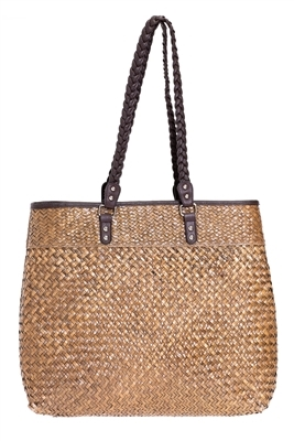 bulk handbags natural straw beach tote