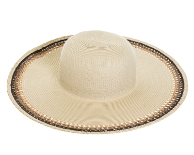 natural straw wide brim bulk floppy hats