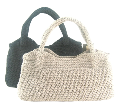vintage inspired crochet overstock handbags
