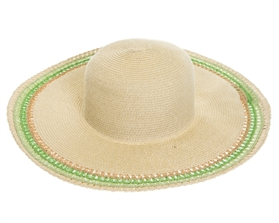 wide brim straw floppy cheap hats in bulk,